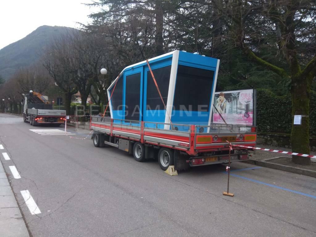 Nuove vetture funicolare a San Pellegrino Terme