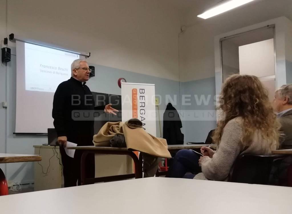 Vescovo Beschi alla BgNews Academy