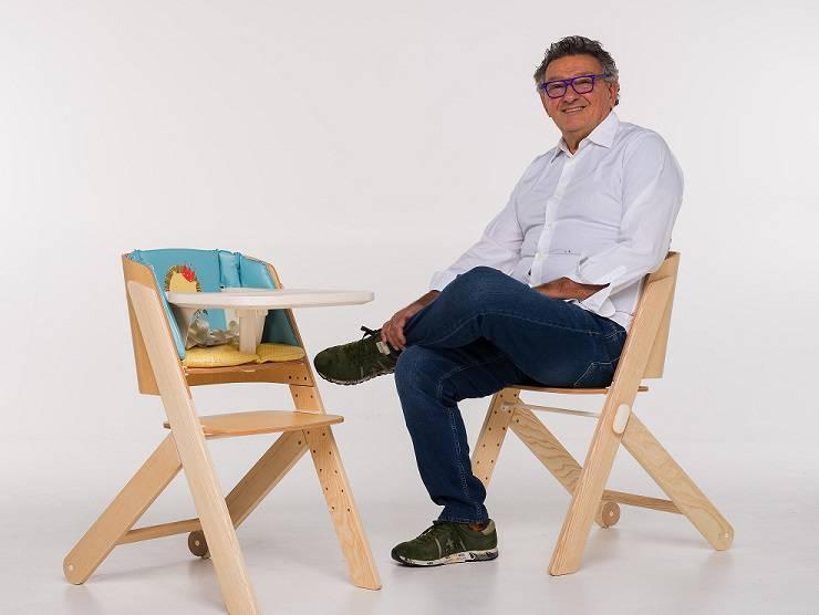 Tiramis la sedia evolutiva di foppapedretti vince for Sedia a dondolo foppapedretti