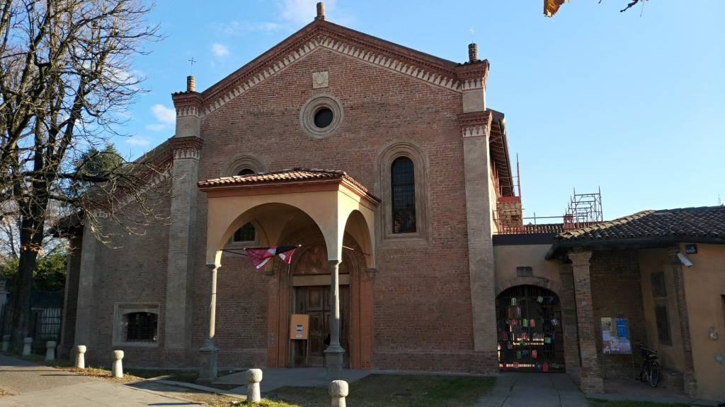 Caravaggio, tornano a splendere gli affreschi di San Bernardino