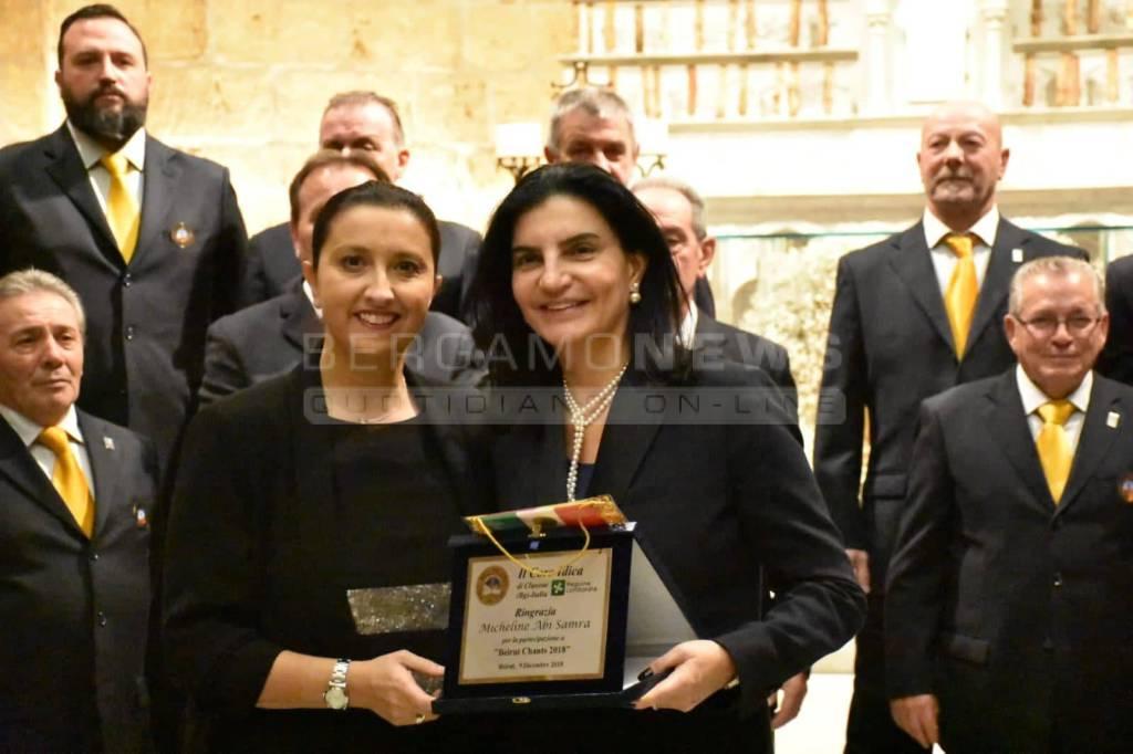 Coro Idica di Clusone a Beirut