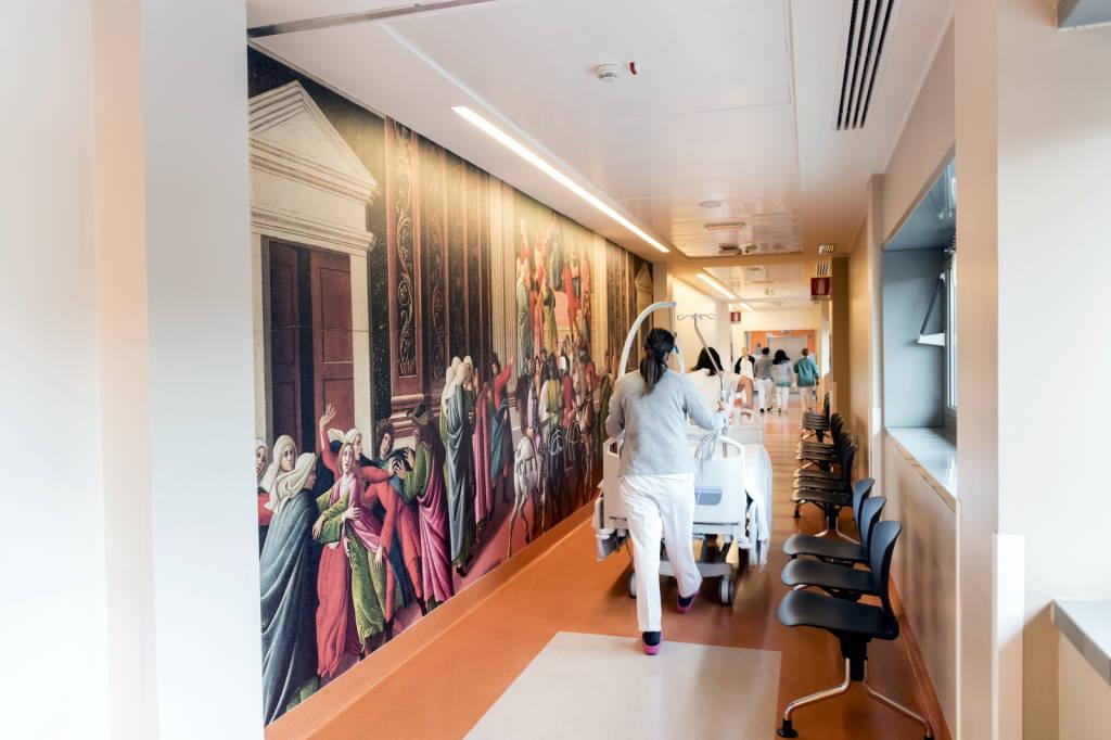 Cura e bellezza, 25 capolavori entrano in ospedale