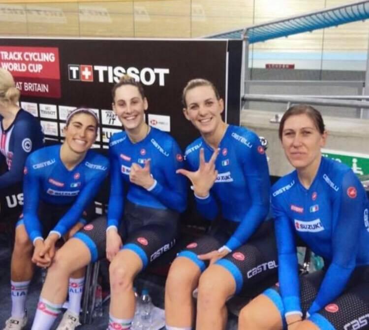 Elisa Balsamo - Coppa del mondo ciclismo su pista 2018