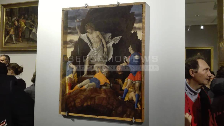 Il Mantegna ritrovato e restaurato: grande pubblico all'anteprima