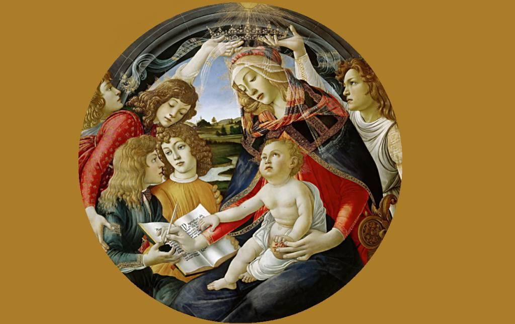 madonna del botticelli