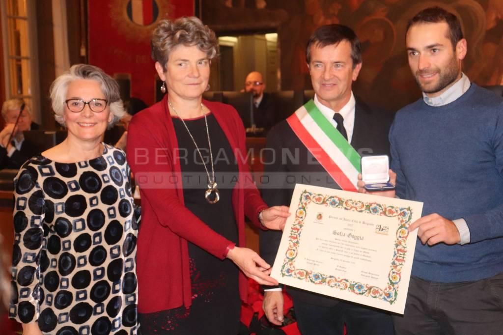 """Premio """"Atleta Città di Bergamo"""" 2017"""