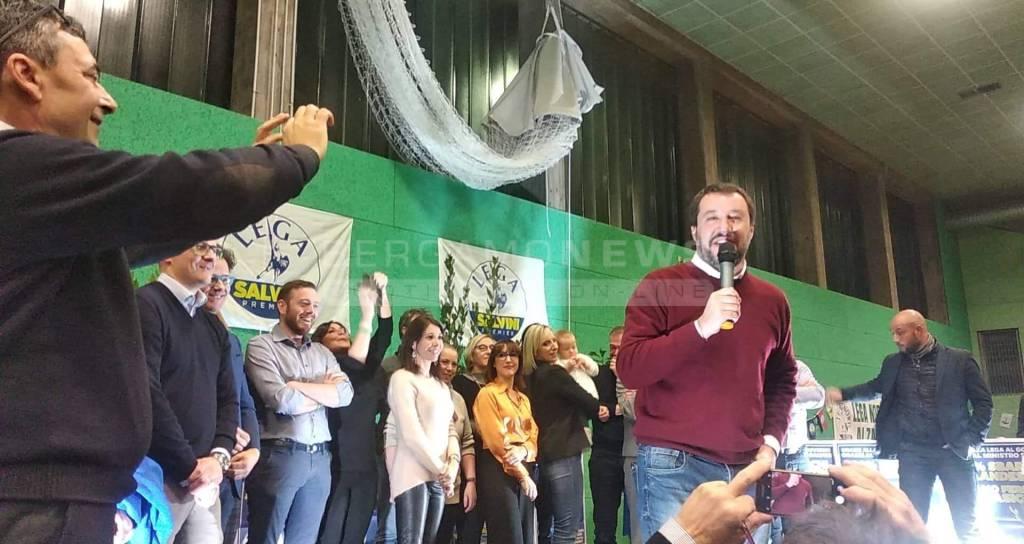 Salvini albino 2018
