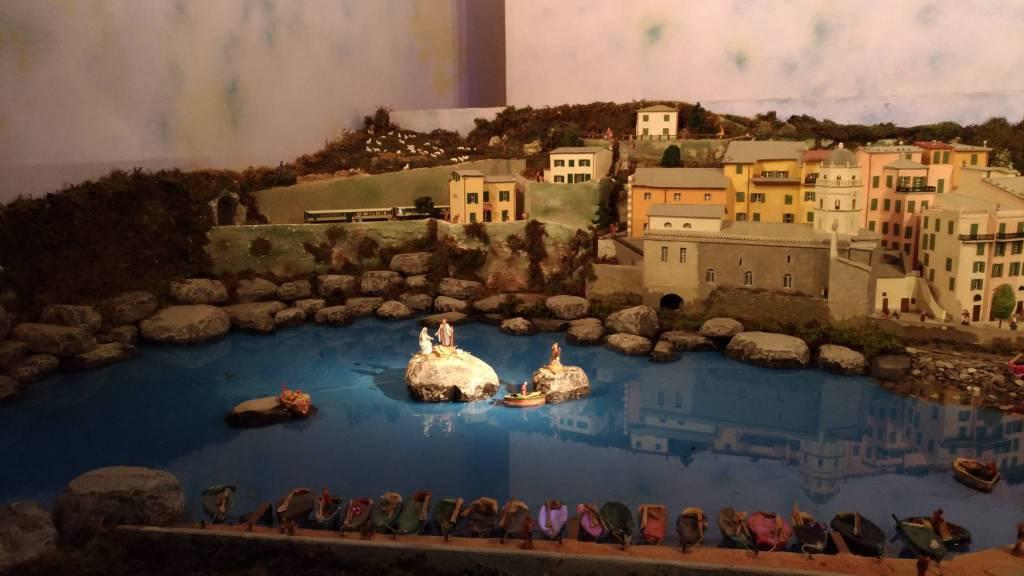 Vernazza e le Cinque Terre protagoniste nel Presepe di Cerete