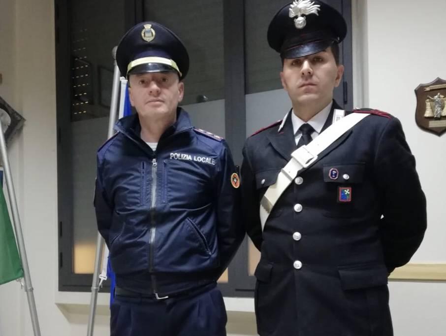 Vigile e carabiniere canonica d'adda