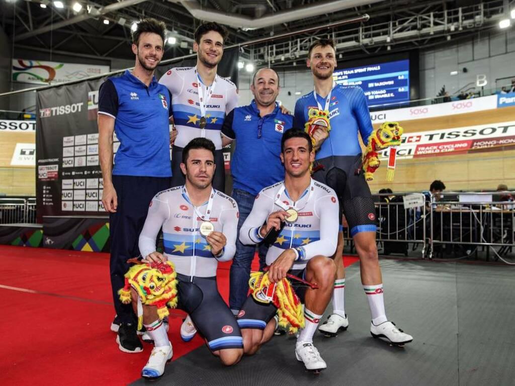 Davide Plebani - Coppa del Mondo ciclismo su pista 2019