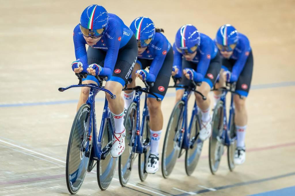 Elisa Balsamo e Marta Cavalli - Coppa del Mondo ciclismo su pista 2019