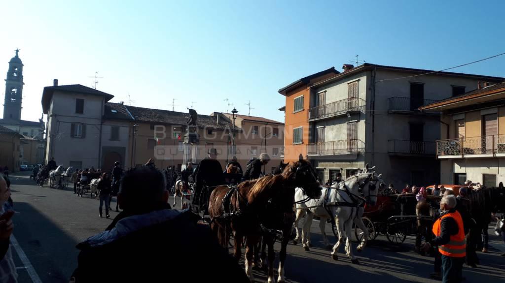 Festa di Sant'Antonio abate a Dalmine 2019