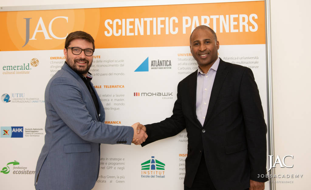 Fondazione ITS – JobsAcademy e Mohawk College per una partnership d'eccellenza
