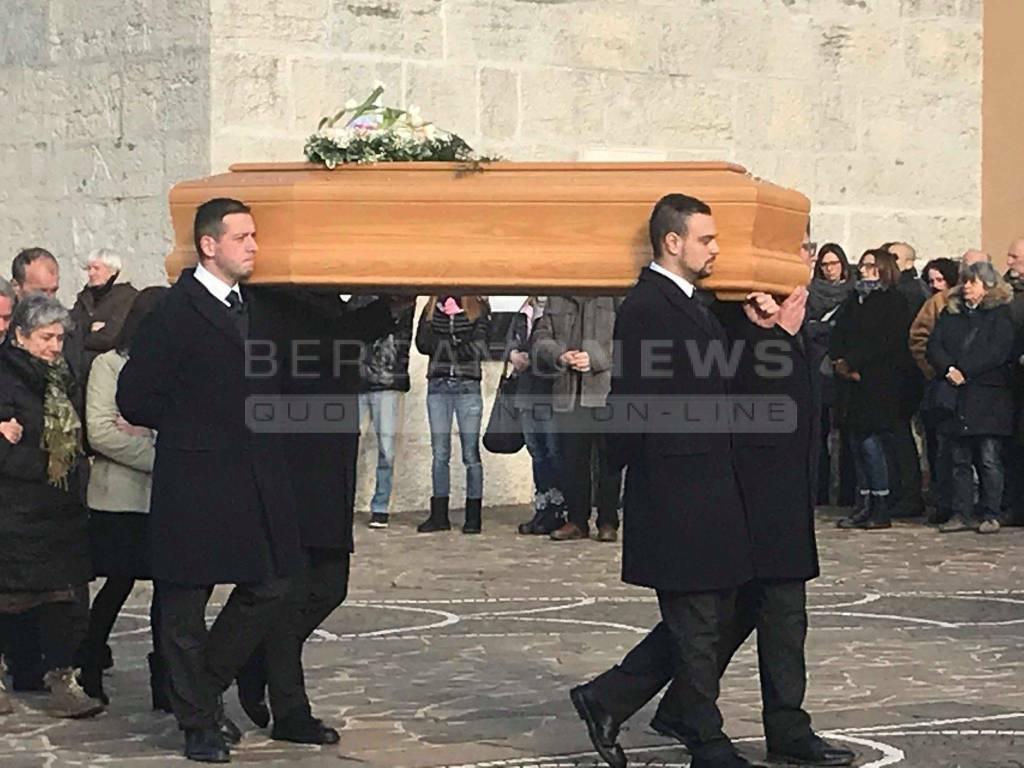 I funerali di Stefania Crotti