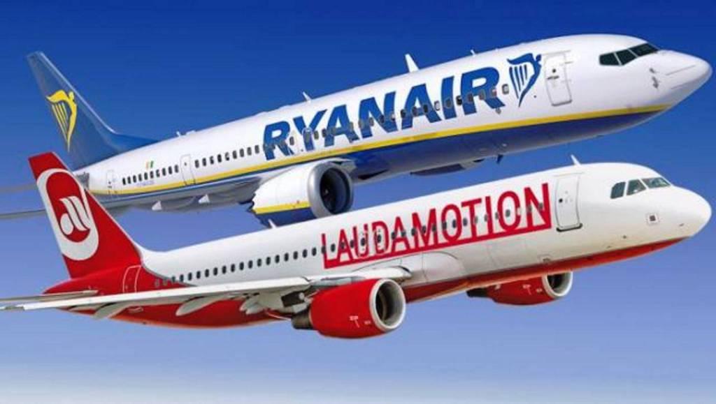 Ryanair propretaria al 100% di Laudamotion