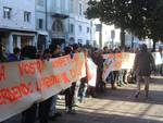 Protesta abitanti Vilminore di Scalve