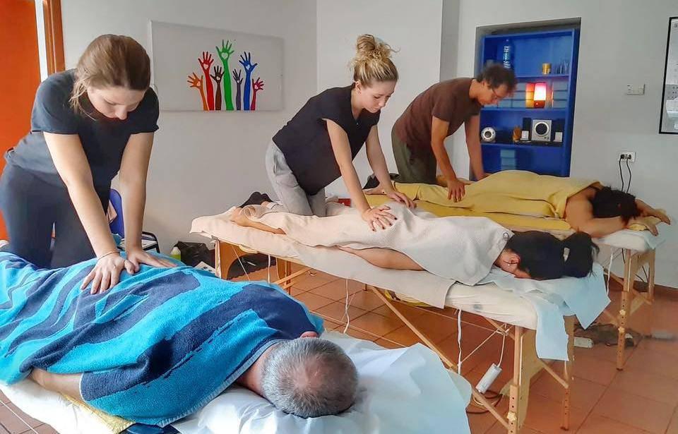 Al via il corso di massaggio Thai nerve touch alla Scuola LAFONTE