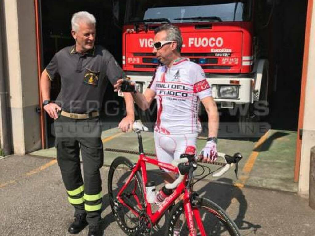 Bruno Carrara vigili del fuoco