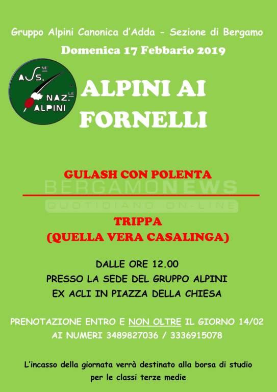 ALPINI AI FORNELLI
