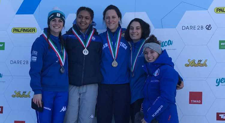 Elena Scarpellini - Campionati italiani di skeleton 2019