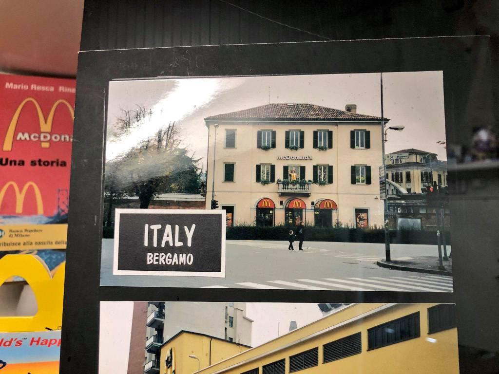 McDonald's foto stazione di Bergamo