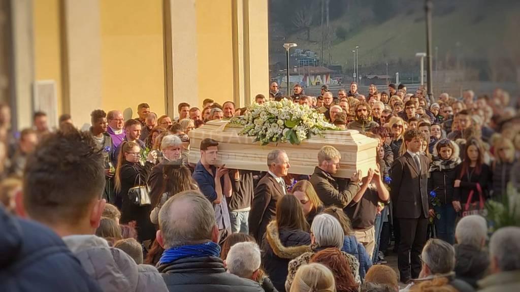 I funerali di Gabriele Pesenti