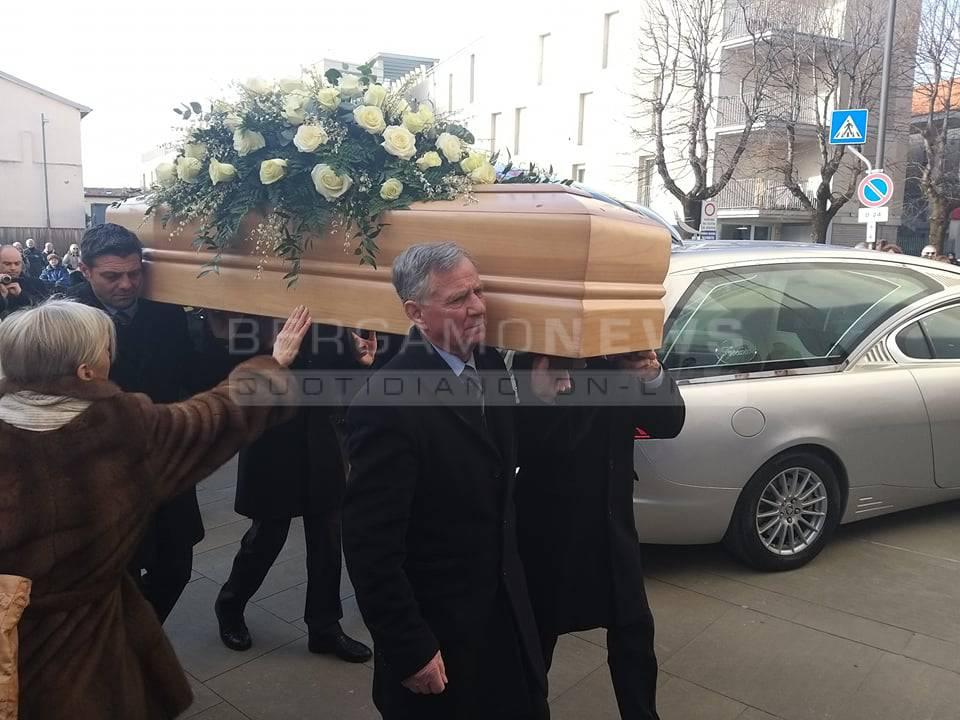 I funerali di Marisa Sartori