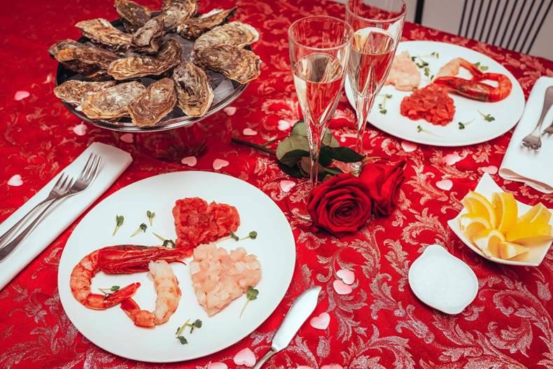 """""""I love ostrica"""", per San Valentino cena speciale a domicilio"""