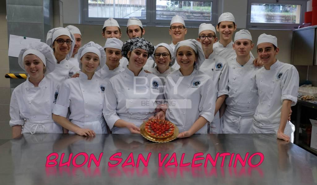 Il dolce di S.Valentino degli studenti della Fondazione ISB