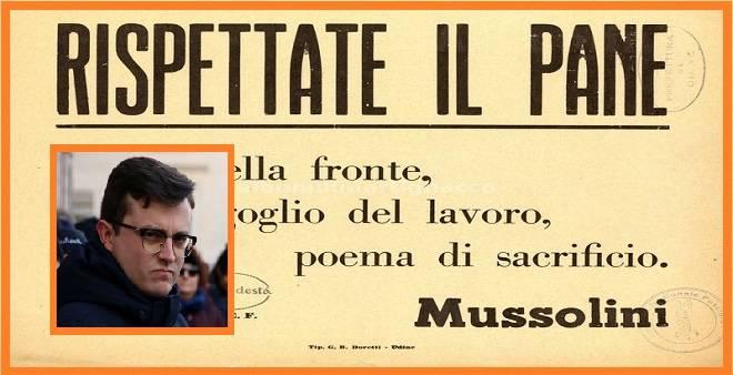 Citazione Di Mussolini In Vetrina Cio Che Spaventa E La Mancanza