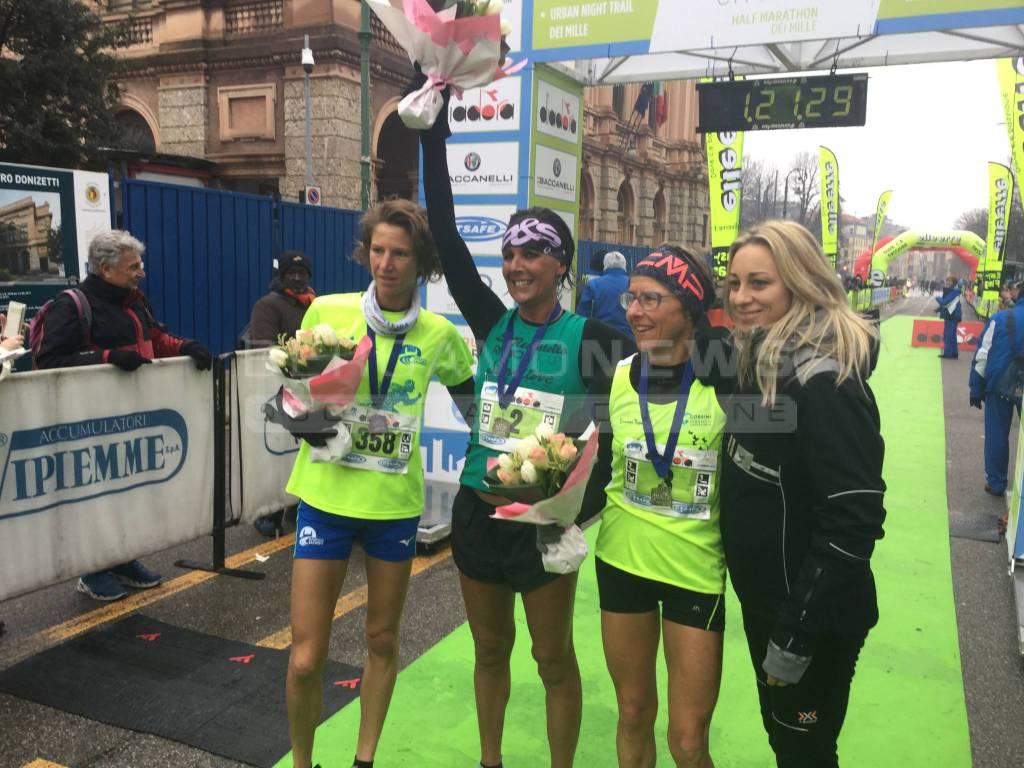 Mezza Maratona dei Mille: sul Sentierone trionfo per Francesco Bona e Eliana Patelli