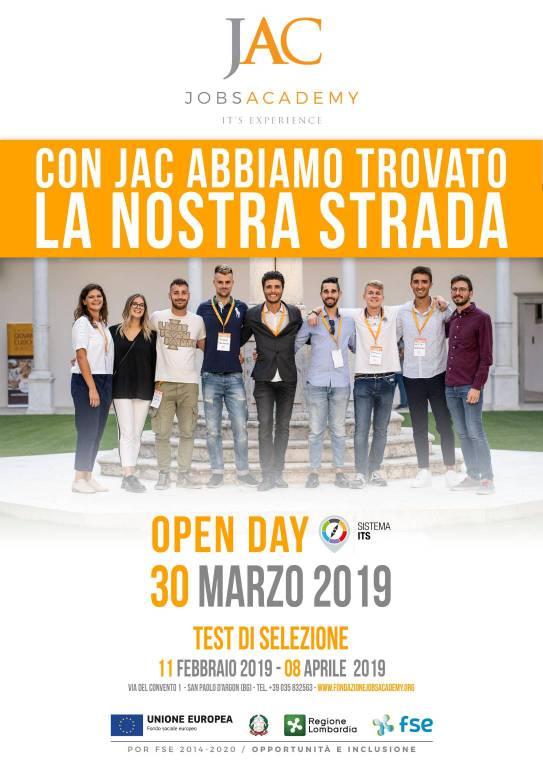 Open day alla Fondazione JAC