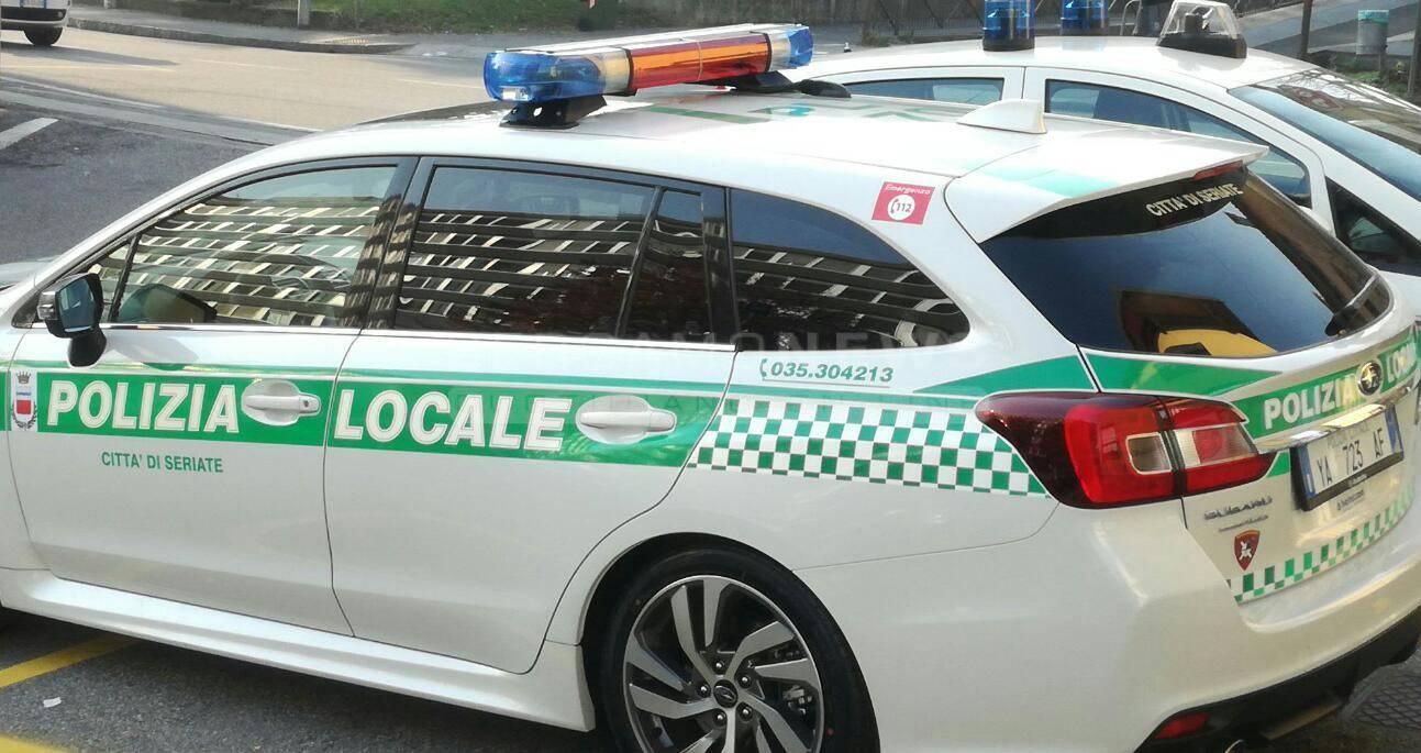 polizia locale seriate