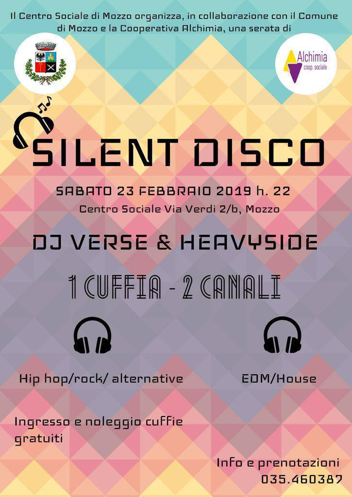 silent disco mozzo