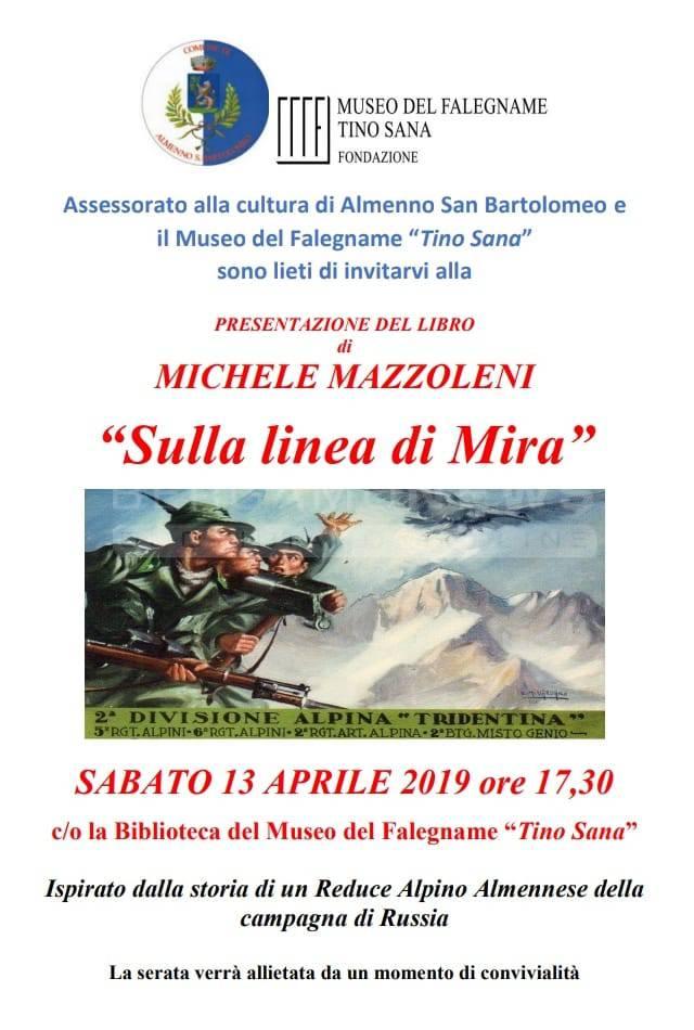 Presentazione Romanzo SULLA LINEA DI MIRA