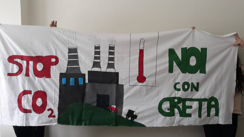 Fridays for the future: la marcia per l'ambiente degli studenti di Alzano e Nembro