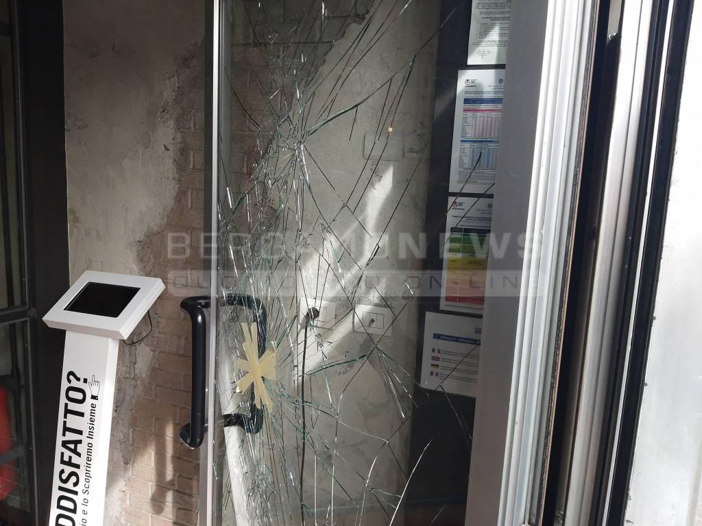 mexicali porta danneggiata