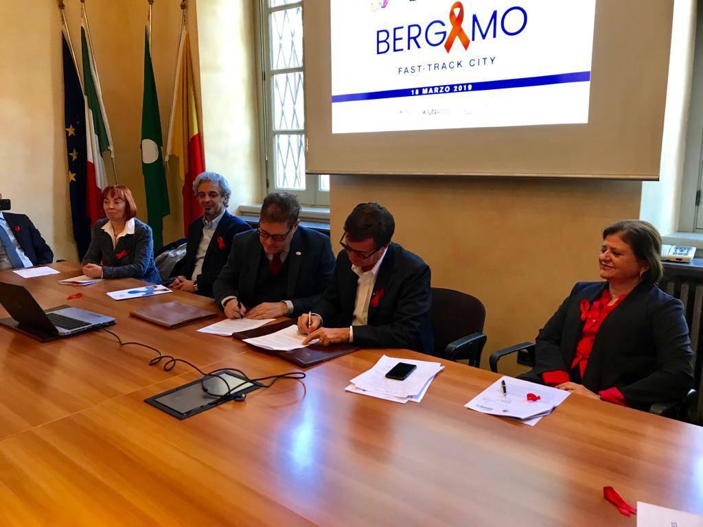 Bergamo, protocollo contro l'Aids