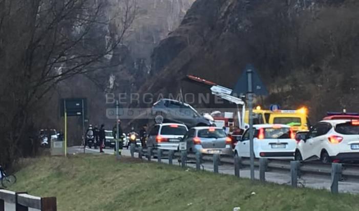 incidente ponte nossa marzo 2019
