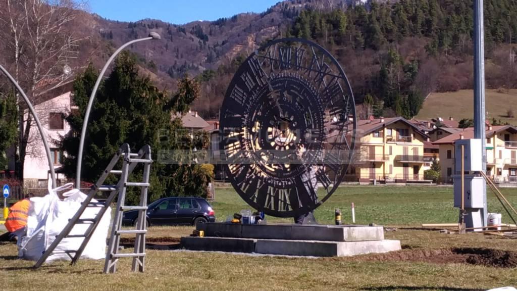 L'orologio Fanzago alle porte di Clusone