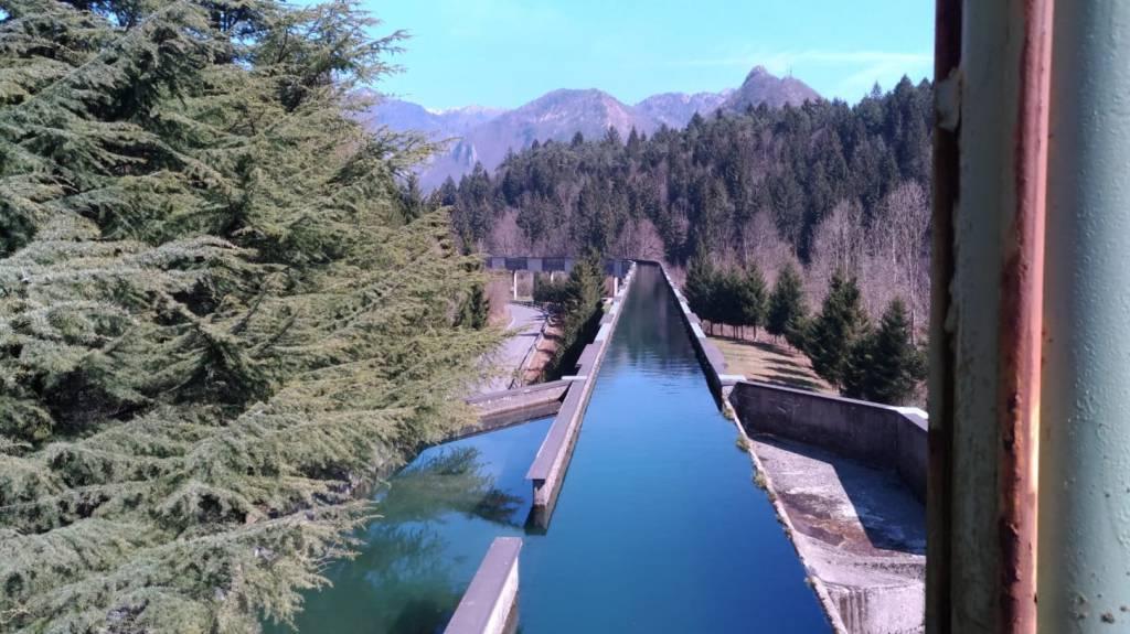 La centrale idroelettirca di Parre