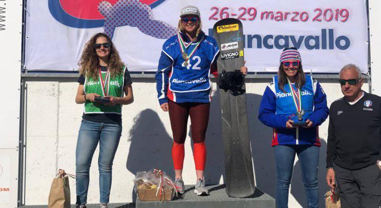 Michela Moioli e Sofia Belingheri - Campionati Italiani Snowboard cross 2019