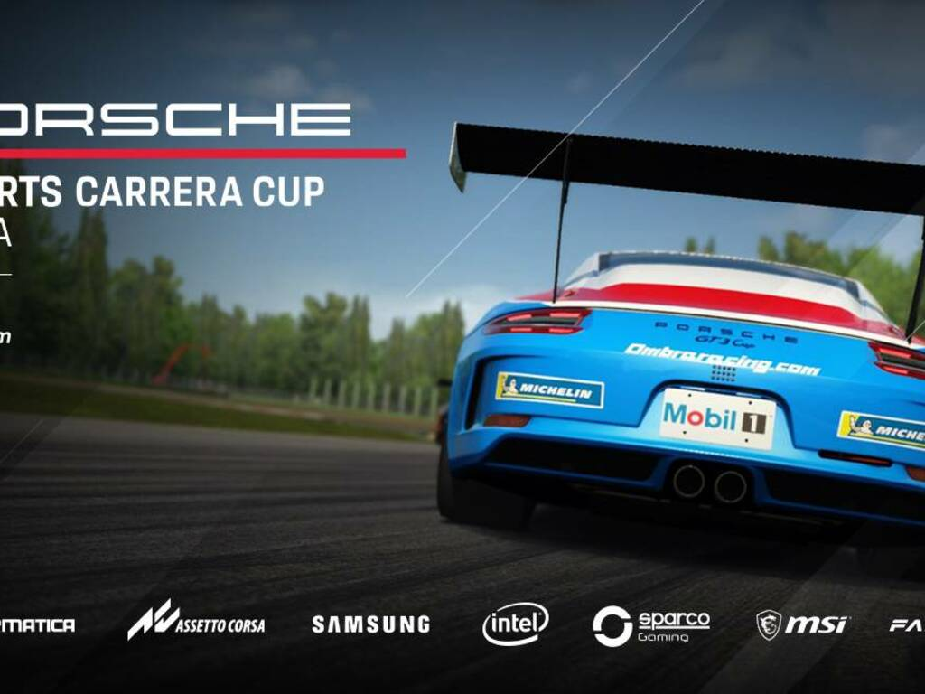 Porsche Esports Carrera Cup Italia