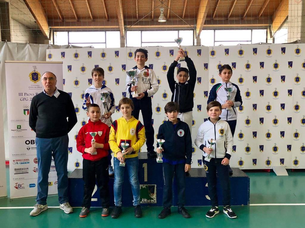 Scherma Bergamo, under 14 a podio alla terza prova regionale