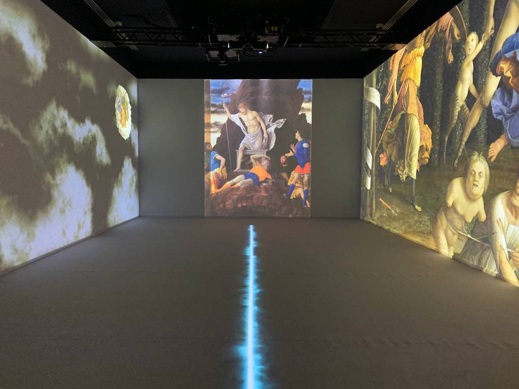 Alla Carrara, la sala interattiva per il Mantegna ritrovato