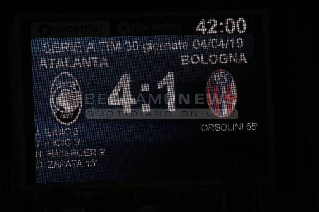 Atalanta-Bologna: il film del match