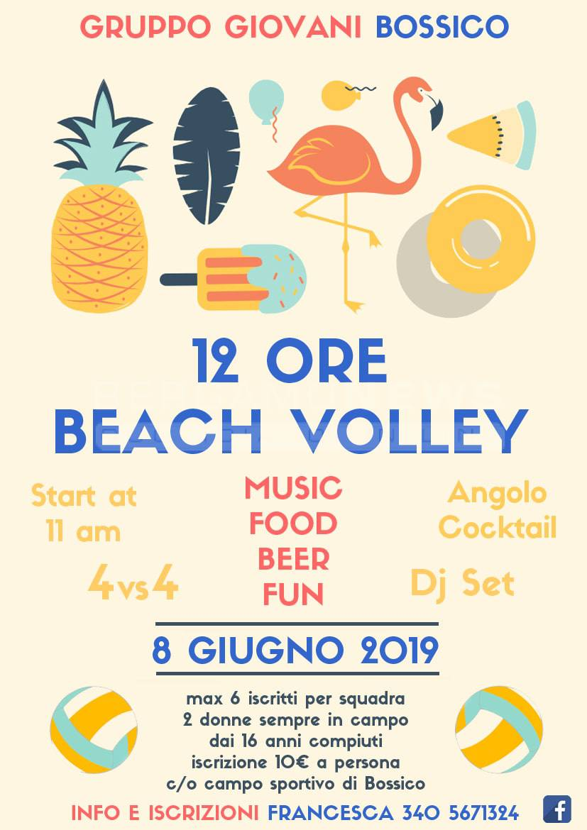 12ore beach volley