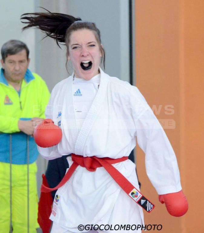 Matilda Pulega convocata all\'Open D\'Italia Karate