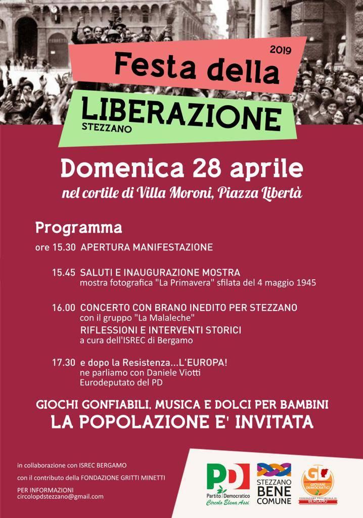 Festa della Liberazione a Stezzano