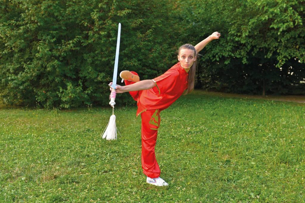le donne e il Wushu Kung Fu